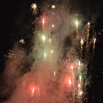 わいわい祭りの花火